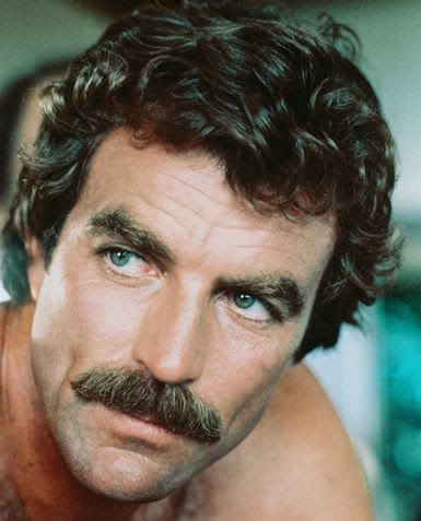 "Magnum P.I. ~ Well-known for his ""Crazy Wisdom"" thought to originate from mustache tendrils that dive deep into your soul."