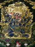 Vajrakilaya is a significant Vajrayana deity who transmutes and transcends obstacles and obscurations