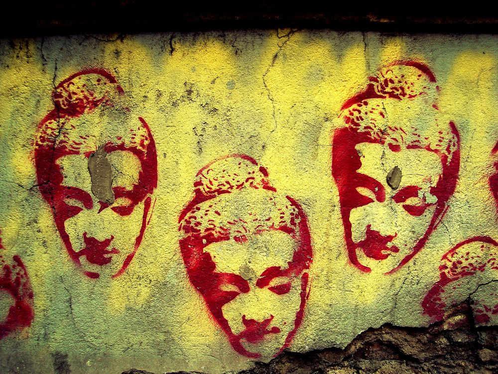 Buddha-head-stencil