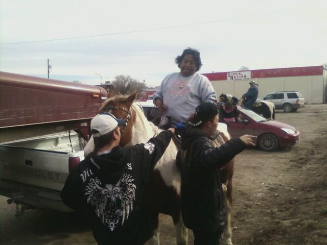 Mann_two_horse