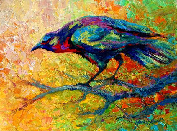 Tree-talk--crow-marion-rose